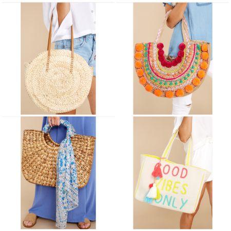 Beach bag. Summer bag. Summer Accessories. Under 50.   #LTKitbag #LTKunder50 #LTKSeasonal