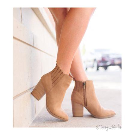 Walmart (!!!!) booties! Omg! They're so so good AND UNDER $27!!!   Fit TTS and are so so comfy!   #walmartfashion   #LTKshoecrush #LTKunder50 #LTKsalealert
