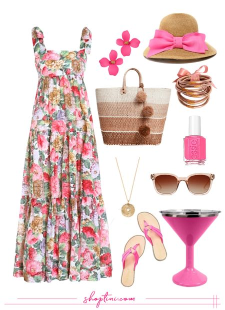 Floral Maxi Dress Under $100 / Zimmermann Inspired / Perfect for Weddings, Showers, Brunch and more!   #LTKunder100 #LTKstyletip #LTKwedding