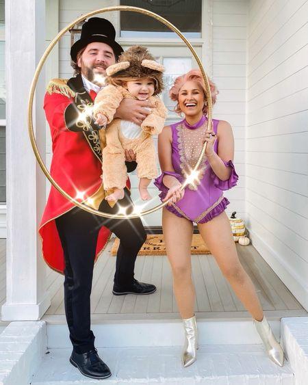 Our Halloween costume last year! #halloween #costume #familycostume #babycostume #lioncostume #ringmastercostume #wig #pinkwig #amazonfinds #amazoncostume #lastminutecostume    #LTKbaby #LTKunder100 #LTKSeasonal