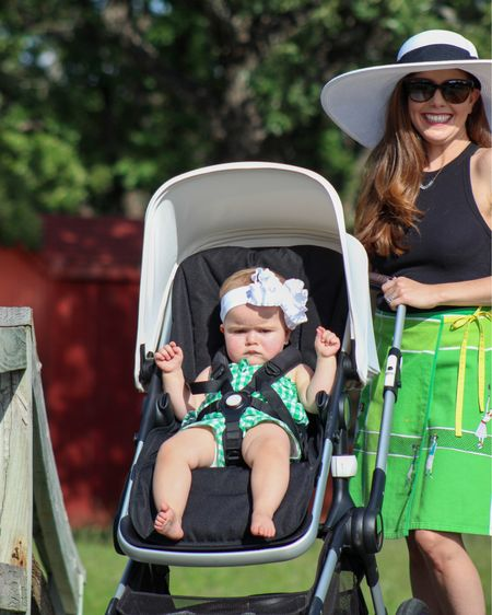 If you're traveling this summer these are my three must haves!   The pack n play is a little heavier than the others but it's designed so you can use one hand to set it up 🙌🏼  We have the Fox stroller and you can steer it with one hand .... need I say more? I LOVE this stroller.    Shop my daily looks by following me on the LIKEtoKNOW.it shopping app http://liketk.it/3gnKP    #liketkit #LTKDay #LTKbaby #LTKkids @liketoknow.it @liketoknow.it.family #competition #ltkseasonal #bugaboo #stroller #travel #familyvacation #nuna #summervacation