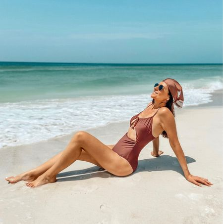 I'm ready for fall... in Florida 😝  Swimsuit and scarf 👉🏼 via @shop.ltk app 📲 #ootd #sofrenchbynaty  #liketkit #shein @sheinofficial   #LTKbacktoschool #LTKswim #LTKeurope #LTKSeasonal