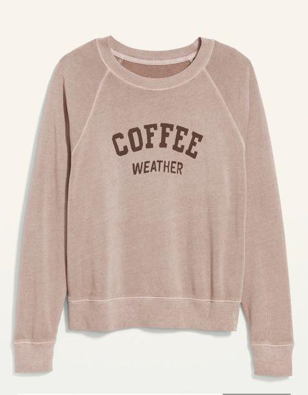 Sweatshirt love #oldnavy #sweatshirt #loungerwear  #LTKstyletip #LTKunder50 #LTKtravel