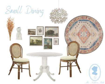 Let's be honest - how many have an enormous dining space?! Not me! This design is for those in smaller cozy spaces!   #LTKHoliday #LTKSeasonal #LTKhome