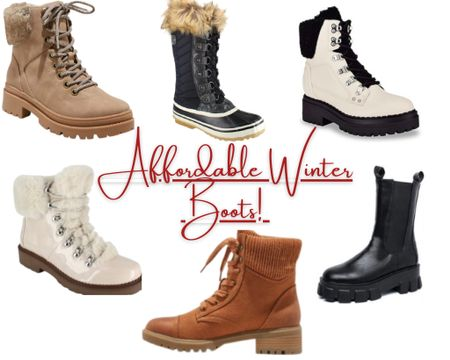 Shop these affordable Winter Boots!   DSW, Target, Walmart. Winter Boot Finds. Affordable. #liketkit #LTKgiftspo #LTKshoecrush #StayHomeWithLTK @liketoknow.it.home @liketoknow.it http://liketk.it/349oJ Download the LIKEtoKNOW.it shopping app to shop this pic via screenshot