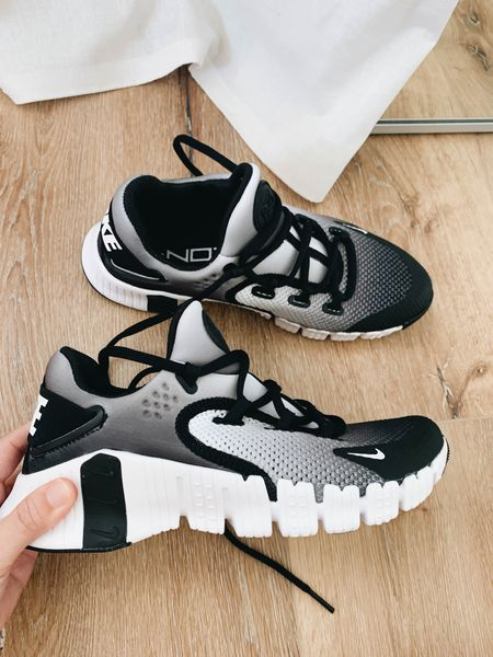 Nike Free Metcon 4 training shoe on sale. I went up a full size. Nike runs small. Super comfortable!  #LTKshoecrush #LTKsalealert