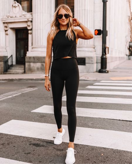 The lululemon wunder under are the best leggings they carry! Better than the align IMO! fit TTS (I wear a 4)   #LTKstyletip #LTKunder100 #LTKfit