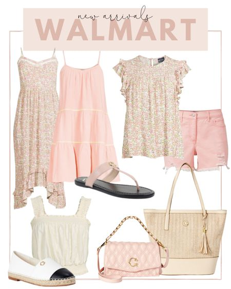 So many pretty pastel new arrivals at Walmart summer! Loving this floral print so much I may need it in the top and dress. #liketkit @liketoknow.it http://liketk.it/3hdSX