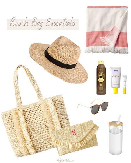 Beach bag essentials!  #LTKstyletip #LTKswim #LTKtravel