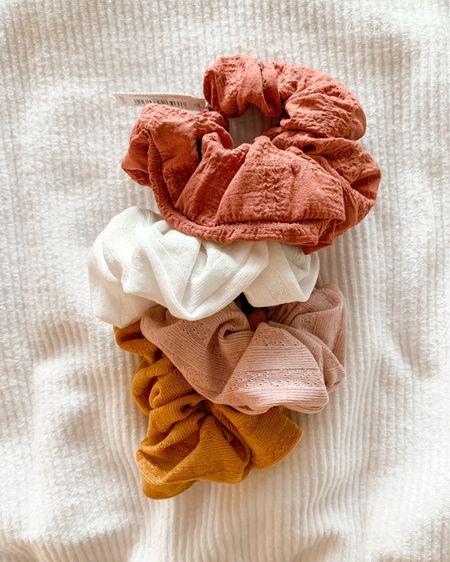 Totally on board with the scrunchie trend 🙌🏼 such a fun way to add a little pop of color! http://liketk.it/2JXTB #liketkit @liketoknow.it #LTKstyletip #LTKsalealert #LTKunder50