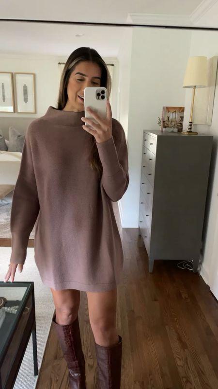 Sweater dress for fall from Amazon fashion   #LTKunder50 #LTKSeasonal