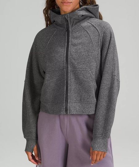 lululemon restock alert 🚨 the lululemon Scuba Oversized Full Zip is now available in Heathered Speckled Black in sizes XS/S, M/L and L/XXL while they last!   #LTKfit #LTKGiftGuide #LTKHoliday