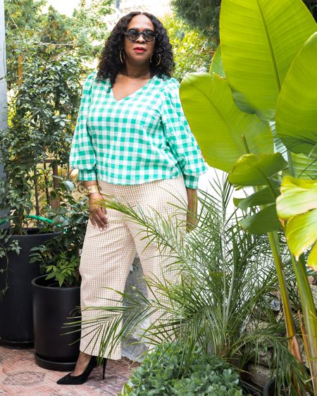 Out here looking like a full on #plantmama! Don't let the photo fool ya. Happy Saturday! It's a beautiful day today and I plan to soak up some sun?  . #LTKworkwear #LTKunder50 #liketkit @liketoknow.it http://liketk.it/39kMN Shop my daily looks by following me on the LIKEtoKNOW.it shopping app  . Hope your weekend is off to a wonderful start! . . Is the sun shining in your neighborhood? Where are you in the world? . . Blouse @Target - A New Day Pants @Madewell Shoes @stevenmadden . . 📸 @cytherial_ . . . . . . .