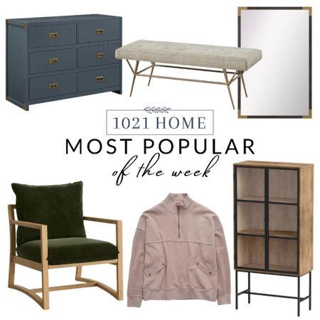 Dresser, cabinet, sweatshirt, chair, mirror, bench , target, Wayfair   #LTKGiftGuide #LTKhome #LTKstyletip