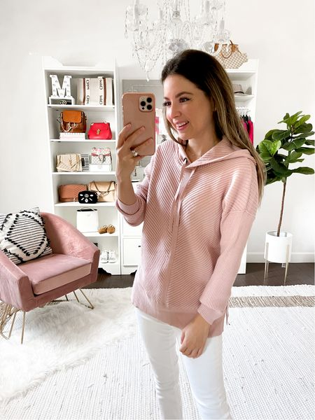 Caslon hoodie pink XSmall // Nordstrom anniversary sale