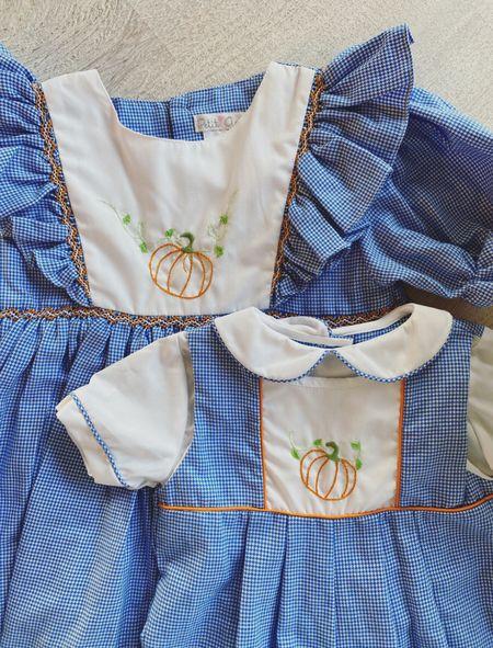 Pumpkin Outfits for baby and toddler! Sibling set #pumpkin #siblingset #pumpkindress #pumpkins #boysclothes #girlsclothes #girlsdresses #fallclothes @zulily #zulilyfinds     #LTKbaby