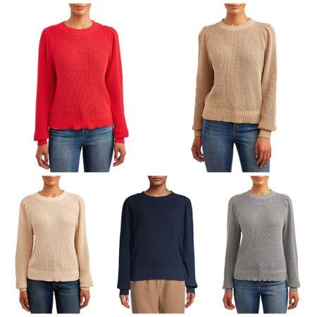 $11 crew neck sweater comes in 5 shades http://liketk.it/2VIMz #liketkit @liketoknow.it #LTKsalealert #LTKstyletip #LTKunder50
