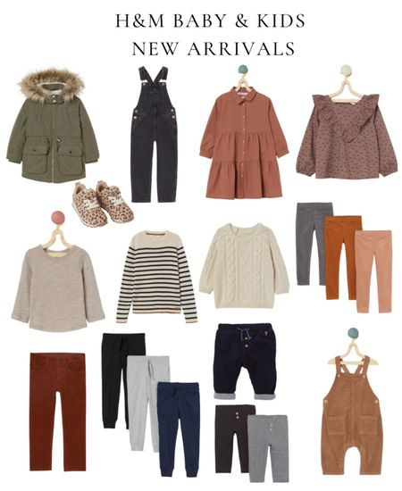 H&M new fall arrivals for kids and baby, fall family photos, holiday outfit