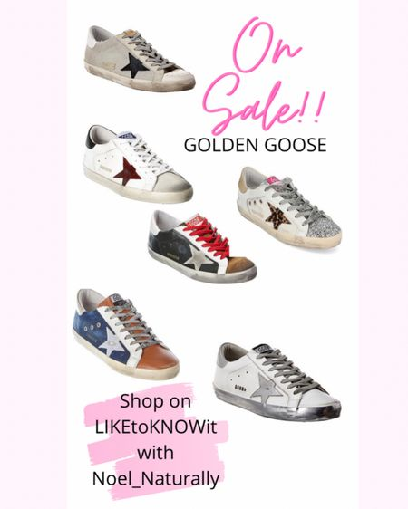 If you're like me and you've been waiting on a Golden Goose sneaker sale then your wait is over! They are going fast but there's still a lot of great styles to choose from.  . . .  Follow me on the LIKEtoKNOW.it shopping app to get the product details for this look and others    #LTKshoecrush #LTKsalealert   http://liketk.it/3aOi5 #liketkit @liketoknow.it  #ltkfashion #ltksneakers #goldengoosesale #goldengoose #newkicks