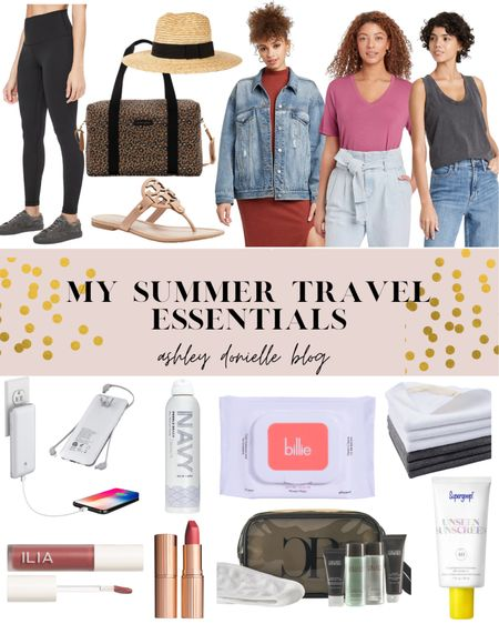 Summer travel essentials I don't leave home without! #travel #beauty #travelessentials   #LTKbeauty #LTKtravel #LTKstyletip