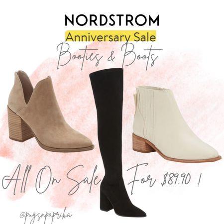 Nordstrom Anniversary Sale boots and booties! Over the knee boots, Steve Madden cooties, Tall Boots, Fall Boots #liketkit #LTKsalealert #LTKshoecrush #LTKstyletip @liketoknow.it http://liketk.it/3jRiA