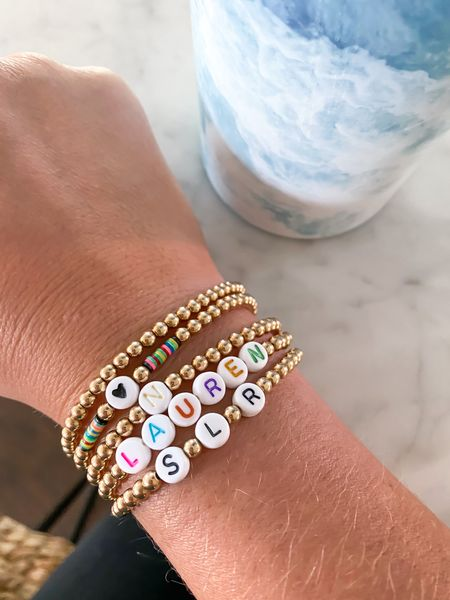 My favorite, everyday bracelets! Use code SIMPLYLAURENROSE for 10% off!   #LTKunder50 #LTKunder100 #LTKsalealert