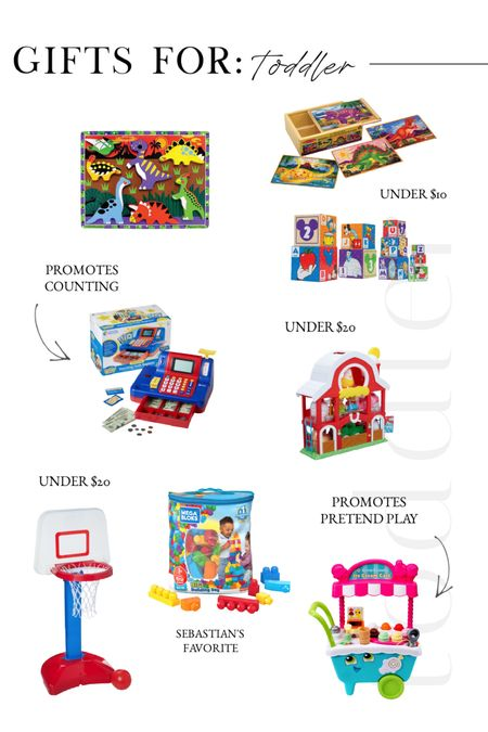 Gift ideas for toddler and preschool kids. Our top selects!   #LTKHoliday #LTKGiftGuide #LTKunder50