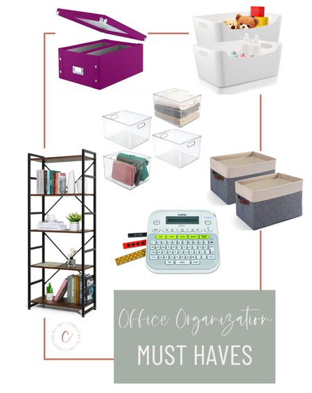 These are some of my must haves for office organization!   #LTKunder50 #LTKhome #LTKunder100