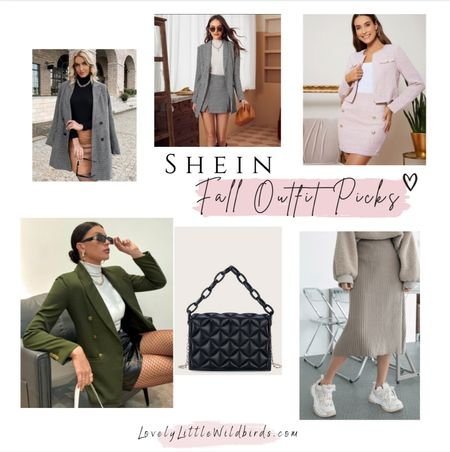 Fall Outfit Finds and Wardrobe Basics from Shein. Blazers. Sets Bodysuits and  Jackets.  Under $50 #Holidayoutfit #Closetstaples #under$50 xoxo    #LTKunder50 #LTKstyletip #LTKSeasonal