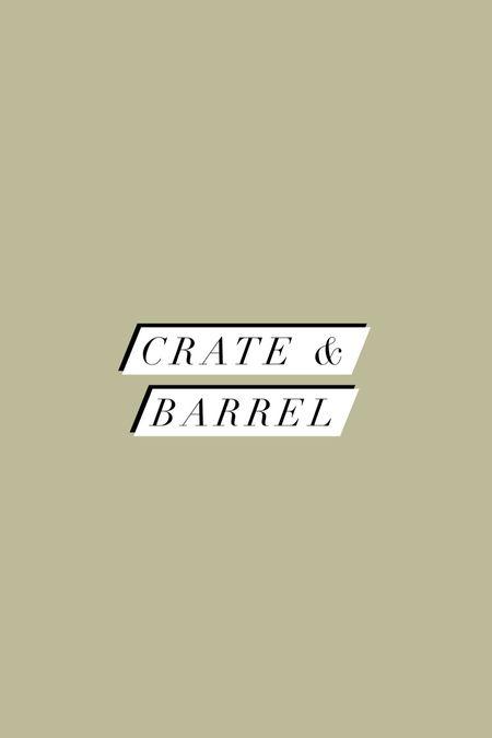Crate & barrel haul   #LTKhome #LTKunder100
