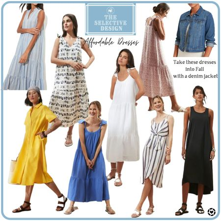 Affordable midi dresses   #LTKsalealert #LTKfit #LTKbump