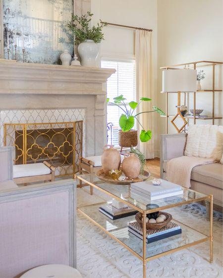 Living room decor, coffee table decor, living room design, neutral decor, boho decor, minimalist decor, modern farmhouse decor. #liketkit @liketoknow.it http://liketk.it/3bGBo