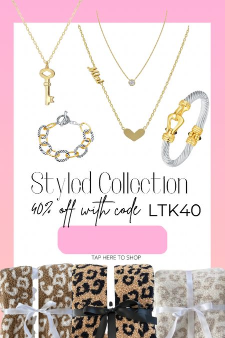 40% off the Styled Collection site with code LTK40