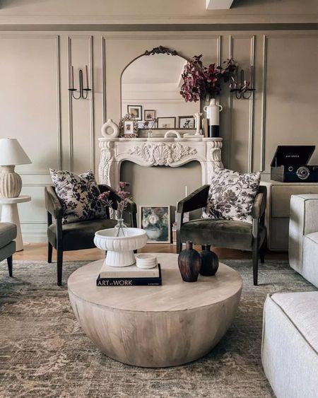 Living room fall decor    #LTKSeasonal #LTKhome
