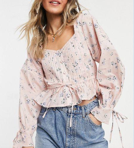 I saw that you loved this pink top! It is so cute for autumn as well 🌸 #pinktop #asos #croptop  #LTKstyletip #LTKSeasonal #LTKeurope