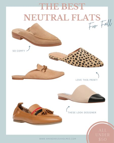 I've rounded up the best neutral flats for fall! And did I mention they are all under $50!!!   http://liketk.it/2XV8Y #liketkit @liketoknow.it