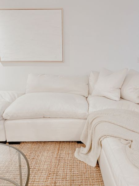 Cloud living room http://liketk.it/32Tqg #liketkit @liketoknow.it #StayHomeWithLTK #LTKhome #LTKunder50 @liketoknow.it.home