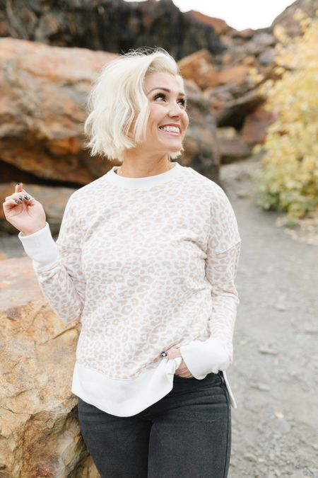 Let's chat this amazing $12 lightweight terry from @walmart ! It's SO dang good! Lightweight, great quality & perfect transition piece for Fall!  I'm in the small    #LTKunder50 #LTKstyletip #LTKSeasonal