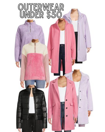 Pink coat, affordable outerwear, J. Crew coat dupe  #LTKstyletip #LTKSeasonal #LTKunder50