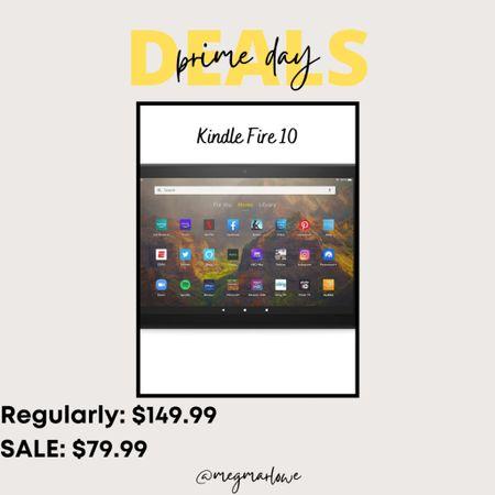 Kindle fire deal on Amazon prime day #primeday #amazonprime  #LTKkids #LTKunder50 #LTKunder100