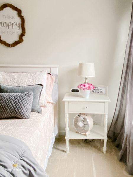 Blush pink and gray make for a calm and happy retreat for our teenager. This blush pink bedding is the quality expected from Pottery Barn, which is why we always recommend them to people looking for something to last years and years. http://liketk.it/36u4Z   #liketkit @liketoknow.it #LTKhome @liketoknow.it.home You can instantly shop my looks by following me on the LIKEtoKNOW.it shopping app  #teendecor #teenspaces #potterybarnlove