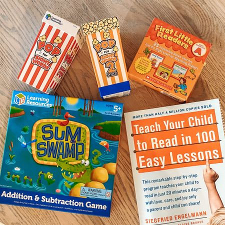 http://liketk.it/2OPGz #liketkit @liketoknow.it  homeschool resources and games for kindergarten learning level #StayHomeWithLTK #LTKfamily #LTKkids