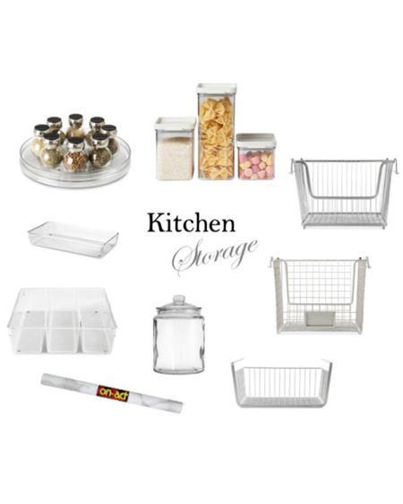 Kitchen storage ideas http://liketk.it/2R3kB #liketkit @liketoknow.it #kitchenstorage #pantrystorage