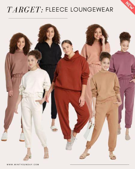 Target trends - cozy jogger, sweatshirt set, comfy loungewear. I love the neutral colors 💕 sold separately and selling out fast! target finds, targetfavefinds   #LTKSeasonal #LTKstyletip #LTKunder50