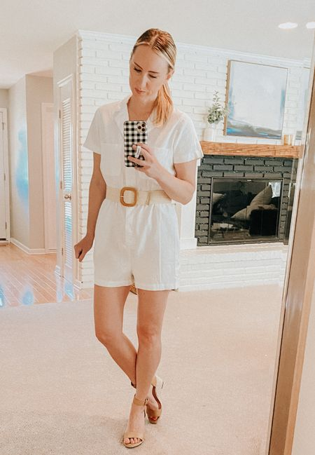Cute lightweight jumpsuit! Comes in 4 colors   #LTKstyletip #LTKSeasonal #LTKunder50