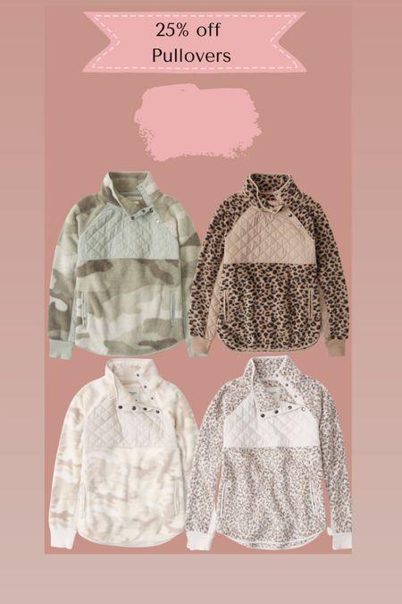 Abercrombie pullovers 25% off   #LTKsalealert #LTKSeasonal #LTKSale