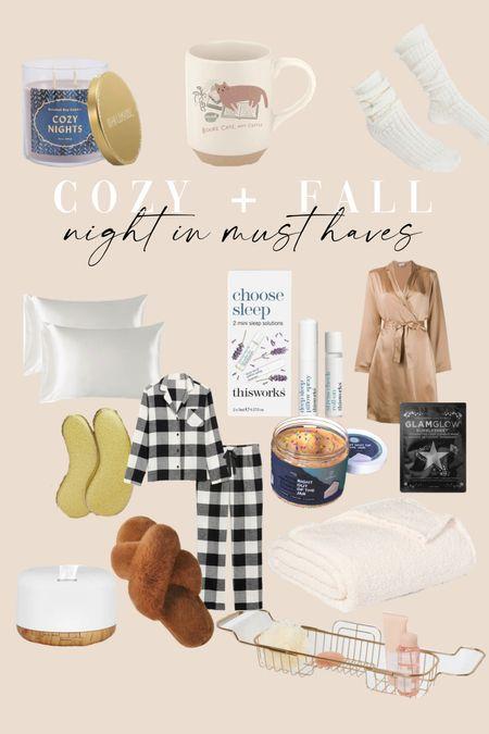 Cozy + fall night in | fall must haves | fall inspo + fall fashion  #LTKbeauty #LTKhome #LTKSeasonal