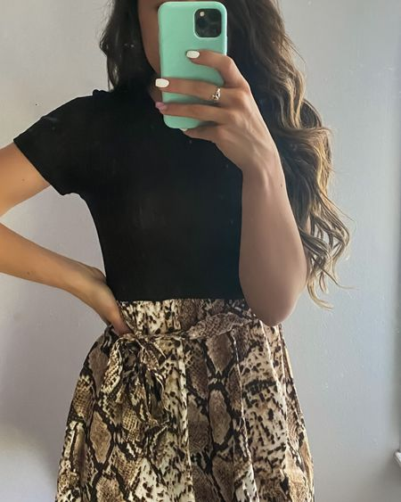 Snakeskin dress perfect for work! http://liketk.it/3h351 #liketkit @liketoknow.it #LTKtravel #LTKstyletip #LTKworkwear