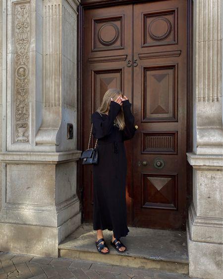 Autumn outfit, maxi dress, black dress, jumper dress @liketoknow.it #liketkit http://liketk.it/3ny4m #LTKfamily #LTKeurope #LTKstyletip