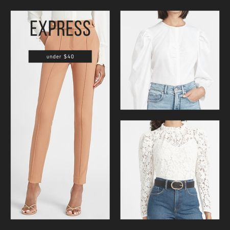 As I transition to a few days back in the office, these Express deals have to be in my closet, especially with each piece under $40! Download the LIKEtoKNOW.it shopping app to shop this pic via screenshot #liketkit @liketoknow.it http://liketk.it/2XmcQ #LTKunder50 #LTKstyletip #LTKsalealert